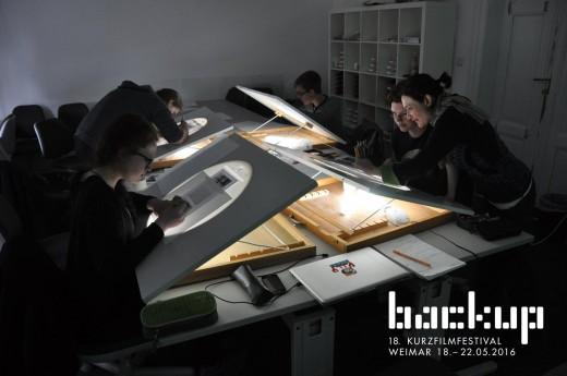 Teaser Workshop de Animación | backUp@school